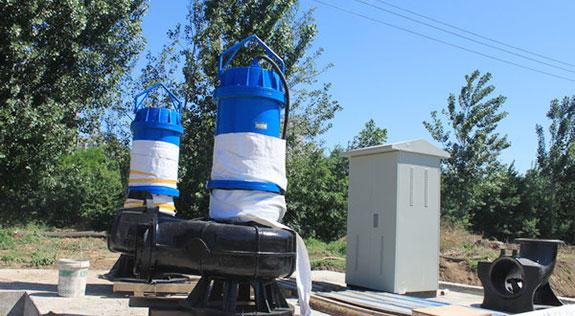 潜污水电泵案例-1