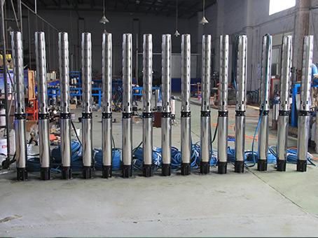 SJ不锈钢多级深井泵